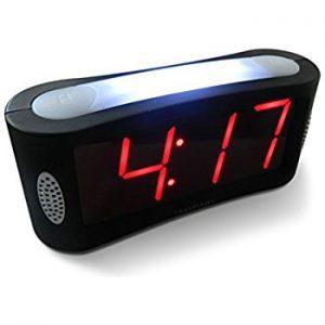 Travelwey LED Digital Alarm Clock (Black)