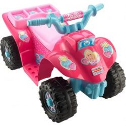(Best Power Wheels for Off Road) Fisher Price CDY13 Barbie Lil Quad