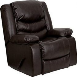 Flash Furniture Leather Lever Rocker Recliner