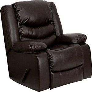 Flash Furniture Leather Lever Rocker Recliner