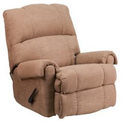 (Best Recliners for Sleeping)Flash Furniture Rocker Recliner Chair