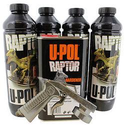 U-POL 0820V GUN Black URETHANE Bed Liner