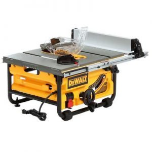 DEWALT  Table Saw For Gardening