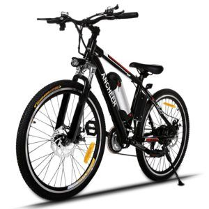(Best Electric Bikes Under 1000) ANCHEER Electric Mountain Bike