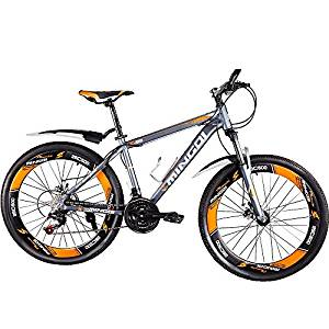 (Best Full Suspension Mountain Bikes Under 1000) OMAAI Mountain Bike