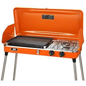 US PIEDLE Portable 2 Burner Grill
