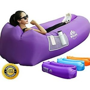 (Best Inflatable Couches) WEKAPO Inflatable Lounger Air Sofa
