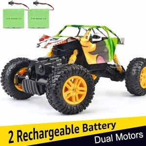 (Best Rc Truck Under 100) DOUBLE E 4WD Off Road RC Truck
